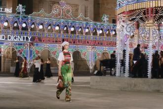 Meraviglioso l'evento di Dior in piazza Duomo
