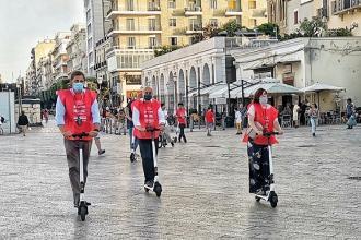 I turisti in città potranno muoversi con i monopattini elettrici
