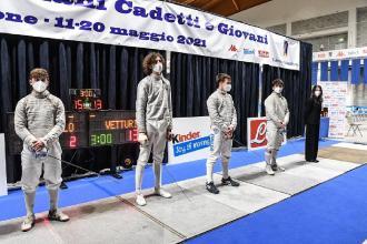 Sul podio Nardella e Vetturi tra i cadetti e Lattanzio ai master