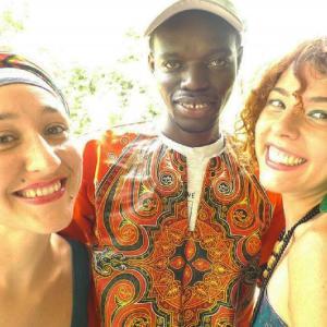 Mary e Cristina dalla Puglia all'Africa per un progetto di moda