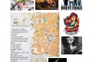 Piazze e vie pronte ad ospitare mini concerti con Street Sound