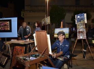 """Tecniche varie d'arte, con writer e street artist per la """"Notte Bruna"""""""