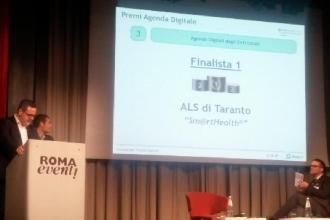 L'Asl di Taranto premiata per il progetto di innovazione Sm@rtHealth