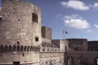 Un video della Marina Militare per un 'viaggio' nel Castello Svevo