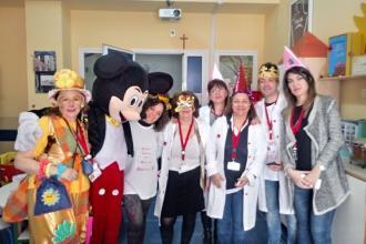 In Pediatria Festa di Carnevale con un regalo e speciali ospiti