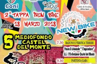 La seconda tappa di Iron Bike si svolge ai 'piedi' di Castel del Monte
