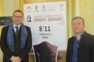 """Pelù e Bandini selezioneranno i finalisti del concorso """"Giordano"""""""