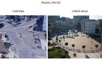 Piazza Pio XII ha un nuovo look e diventa vero luogo di aggregazione