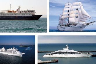 In arrivo nove navi da crociera, tra cui il veliero Sea Cloud
