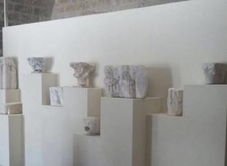 Nuovo percorso nel lapidarium al Castello e mostra di Molodkin