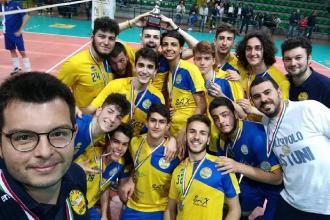 Gli under 20 della pallavolo maschile vicecampioni regionali