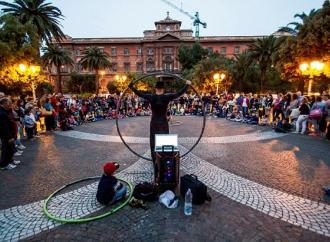 Per la Festa di Primavera, arti di strada in piazza
