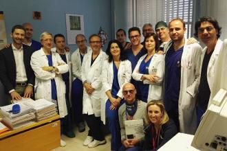 """Alla Cardiologia del """"Fazzi"""" utilizzata la tecnica delle 'onde d'urto'"""