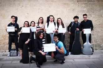 Nove giovani musicisti ed un'intera scuola premiati a Tiggiano