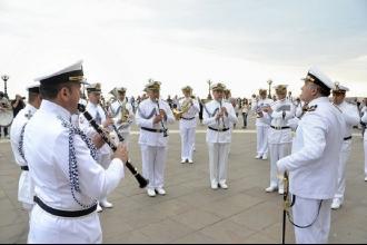 Dopo 17 anni il Giuramento dei militari della Marina sul lungomare