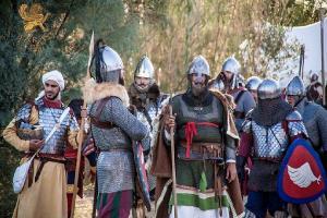 Si rievoca la battaglia condotta da Roberto il Guiscardo e da Malgerio