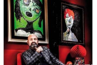 L'artista Pitta sarà presente all'inaugurazione della mostra al Museo