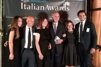 Uno Studio Legale di Bari premiato a Roma