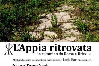 Tornata in Puglia la mostra fotografica multimediale sull'Appia