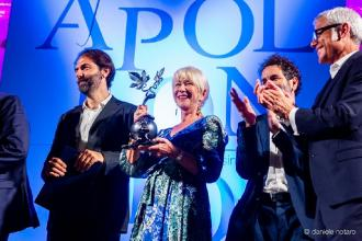 L'accorato appello contro la Xylella di Helen Mirren, premio Apollonio