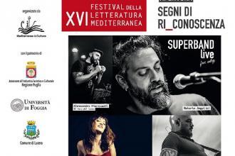 Anche un concerto per il Festival della Letteratura Mediterranea