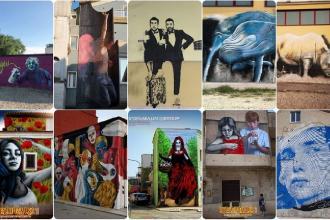 Ecco i murales realizzati per attirare turisti