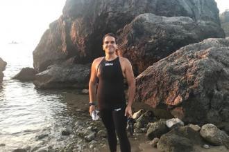 Nuova traversata per nuovo record del nuotatore pugliese Di Pierro