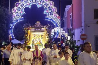 Processione, musica, spettacoli e tradizione per la Madonna della Luce