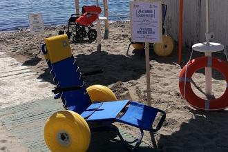 La prossima estate il mare della Puglia sarà accessibile ai disabili