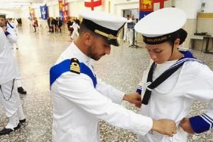 385 hanno giurato fedeltà alla Patria ed alla Marina Militare