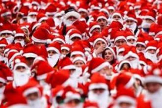 La città di Mattinata sarà invasa e colorata dai Babbi Natale