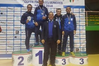Bronzi ed argento vinti alla Coppa Italia di Karate da due società