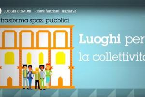"""Regione ed Arti lanciano il progetto """"Luoghi Comuni"""" per i giovani"""