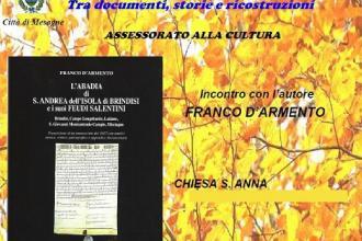 Nella Biblioteca la presentazione del manoscritto sui feudi salentini