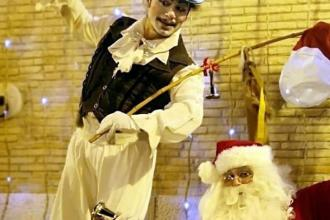 I cittadini del rione Paradiso organizzano una festa di Natale