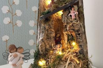 Il Natale con i manufatti, i presepi e il calendario di Raggio di Sole