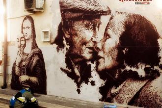 Due nuovi murales abbelliscono il centro stornarese