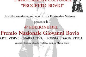 """Via alle iscrizioni al Premio nazionale """"Giovanni Bovio"""""""