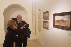 Lo studioso Miracco in visita a Barletta per le opere di De Nittis