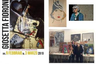 Venti opere della pop artist Giosetta Fioroni in mostra a Foggia