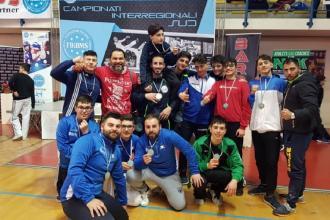 Tredici medaglie per il team ginosino al Campionato interregionale Sud