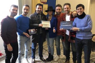 """Il quintetto """"BANDagliocchi"""" secondo a """"Casa Sanremo Tour"""""""