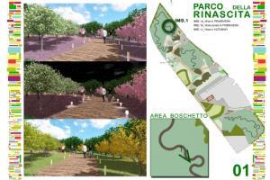 Presentato il Parco della Rinascita nell'area ex Fibronit