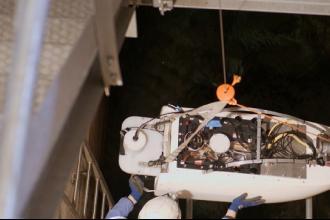 Il robot Caravella ispeziona il Canale Principale dell'Acquedotto