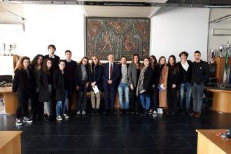 Futuri avvocati in visita al Tribunale con Rotaract Club Bari