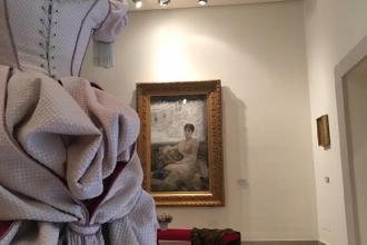 """Mostra degli abiti de """"La Traviata"""" ispirati ai quadri di De Nittis"""