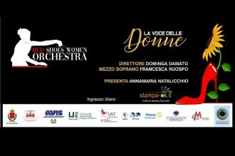 Per la giornata delle donne concerto con la Red Shoes Women Orchestra