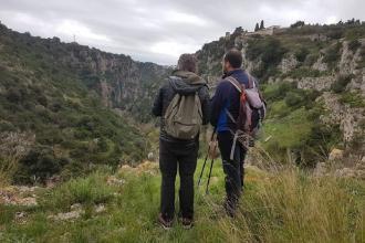 La prima domenica di primavera camminata nel Canyon di Puglia