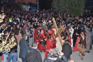 Torna la Passio Christi con 150 figuranti, la più grande della Daunia