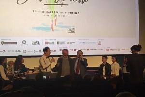 """Il corto """"A mare"""" degli alunni della Zingarelli vince a Torino"""
